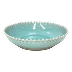 Pearl Set of 4 pasta plates, 23cm, aqua