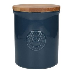 Richmond Storage jar, H14 x D11cm, navy