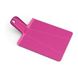 Chop2Pot Plus Small folding chopping board, 22 x 26cm, pink
