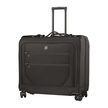 Lexicon 2.0 Dual caster garment bag, H62 x W63 x D34cm, black