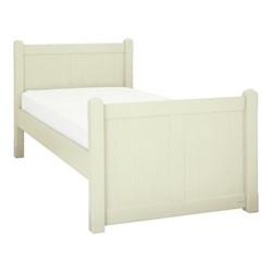 Charterhouse Single bed, L207 x W99.5 x H94cm, antique white