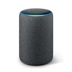 Echo Plus smart speaker, charcoal