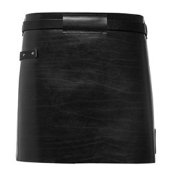 Waist Down Collection Short apron, H40 x W62cm, pure black