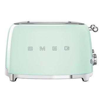 50's Retro 4 slice toaster - 4 slot, pastel green