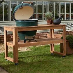 Large Premium Mahogany Table Bundle Barbecue set