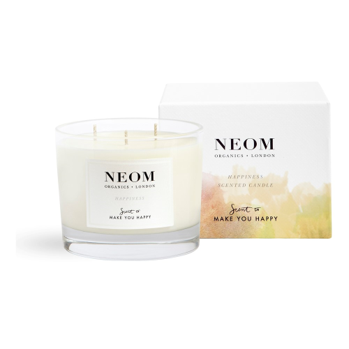 Scent to Make You Happy 3 wick scented candle, White