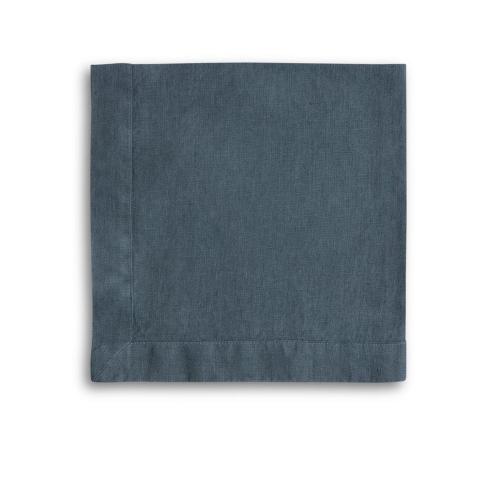 Mitered Hem Napkin, 47 x 47cm, Parisian blue