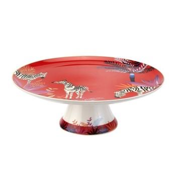 Tahiti - Zebra Cake plate, 27cm