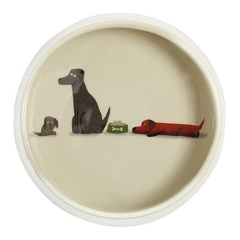 Labrador Dog Bowl, D18cm, multi