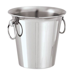 Elite Small ice bucket, 12.5 x 13cm, stainless steel