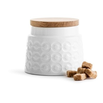 Nature Storage jar, H10cm - 50cl, oak