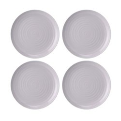 Set of 4 coupe plates 27cm