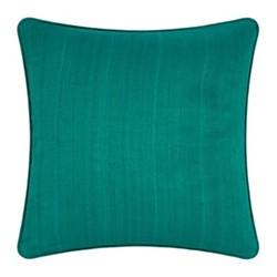 Silk cushion, 45 x 45cm, jade