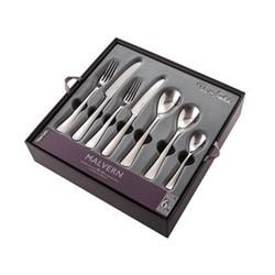 Malvern Bright 42 piece cutlery set, stainless steel