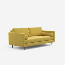 Brindle 4 seater sofa, W205 x H85 x D102cm, pelham pear