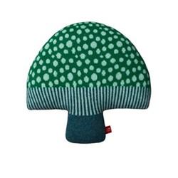 Mushroom Cushion, L37cm, green