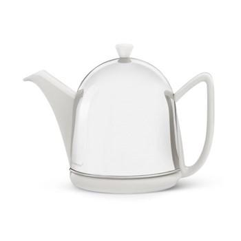 Manto Teapot, 1 Litre, white