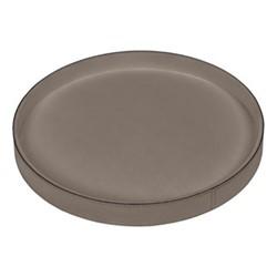 Polo Round tray, 37.5cm, mud
