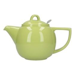 Geo 4 cup teapot, H16 x D14cm, pistachio