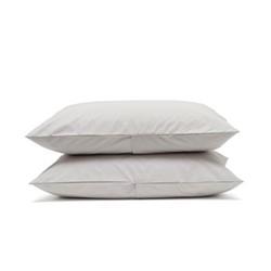 Luxe Bedding Pair of pillowcases, 50 x 75cm, dove