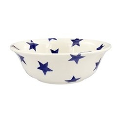 Blue Star Bowl, 5.7 x 16.9cm