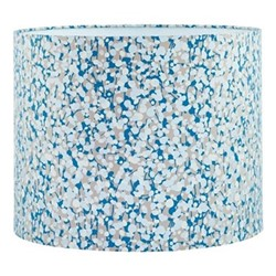Garland Drum lampshade, W31 x H24cm, pebble/steel
