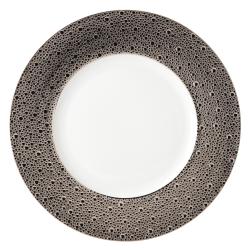 Ecume Platinum Service plate, 29.5cm