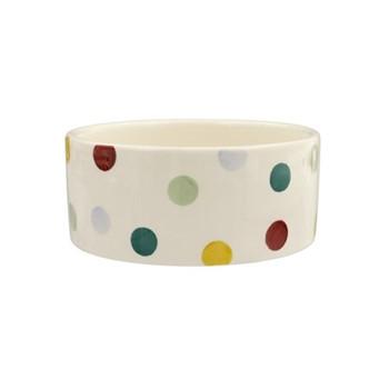 Polka Dot Small pet bowl, D13.5 x H5.5cm - 34cl