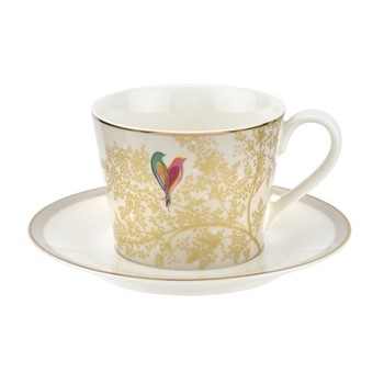 Chelsea Collection Teacup and saucer, 20cl, light grey