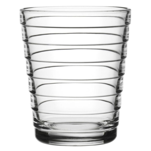 Aino Aalto Pair of tumblers, 22cl, Clear