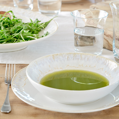 Taormina Set of 6 soup/pasta plates, 21.5cm, white