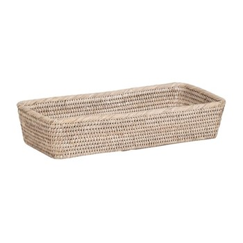 Ashcroft Small bread basket, L40 x D18 x H8cm, rattan