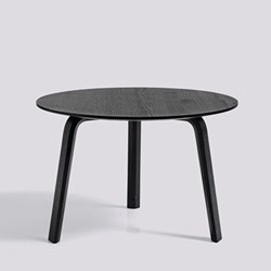 Bella Coffee table, H39 x W60 x D60cm, black