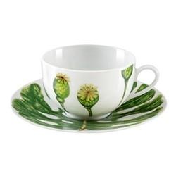 Ikebana - Envie Set of 6 teacups and saucers, 18cl