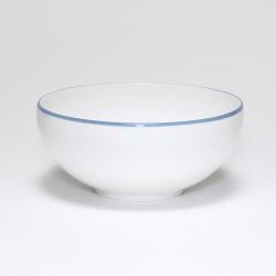 Breakfast/soup bowl, D15cm, cornflower blue