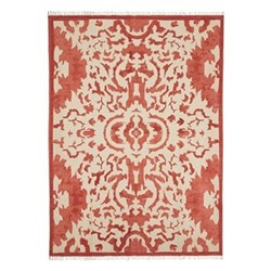 Nesbitt Rug, 315 x 230cm, 100% cotton/red