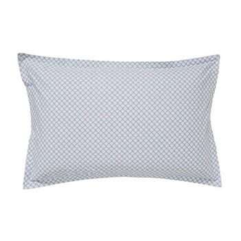 Sora Oxford pillowcase, L48 x W74cm, eucalyptus