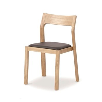 Profile Oak chair, H78 x W49.5 x D49.5cm, oak