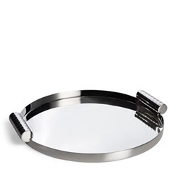 Montgomery Nested tray, 30.42 x 3.58cm, silver