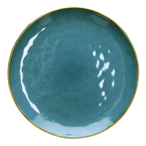 Concerto Pair of round platters, Dia32cm, Blue