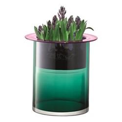 Nest Vase, H35 x D35cm, marine green/slate