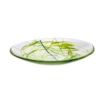 Contrast Dish, D38cm, lime