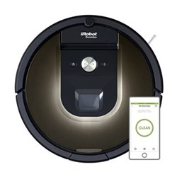R980 Smart aeroforce robotic vacuum cleaner with recharge and resume function