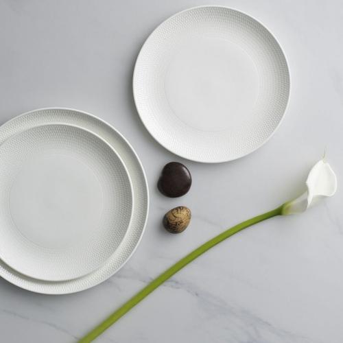 Gio Side plate, 17cm, White