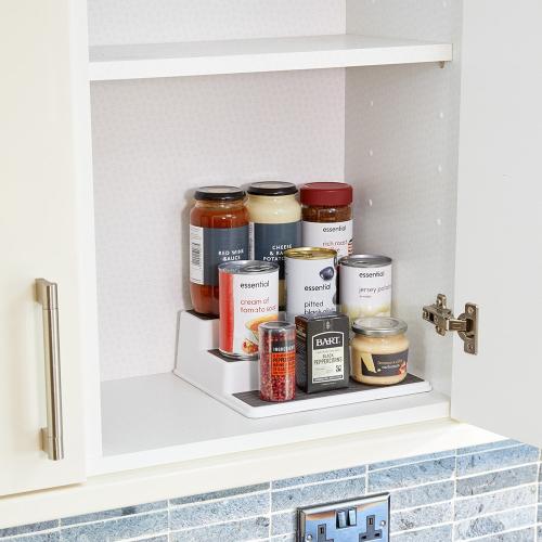 3 tier shelf organiser
