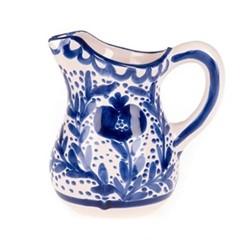 Granada Jug, Dia13 x H18cm, blue