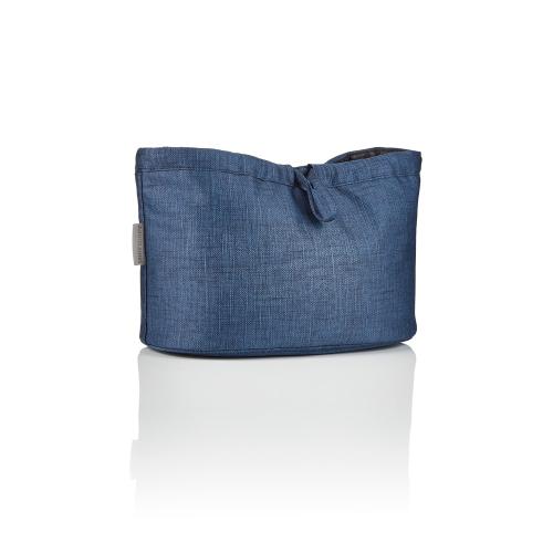 Essentials pouch, Insignia navy, H20 x W32 x L20cm, Blue