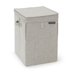 Stackable laundry box, 35 litre, grey
