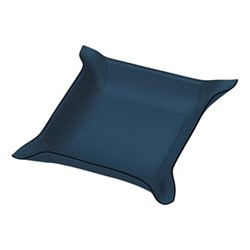 Jack Square valet tray, 28cm, petrol blue