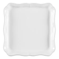 Alentejo Pair of square trays, 21cm, white